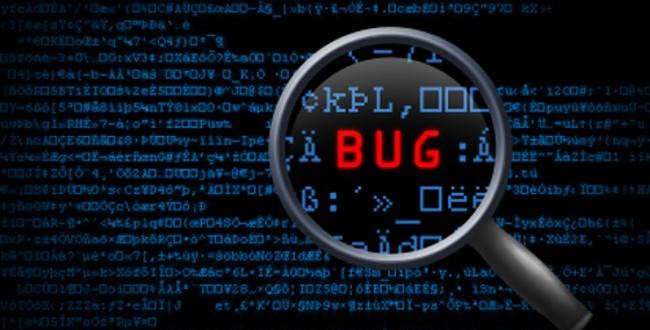 electronic bug detection